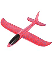 DAYONG Foam Throwing Glider Airplane Inertia Aircraft Toy Hand Launch Airplane -L