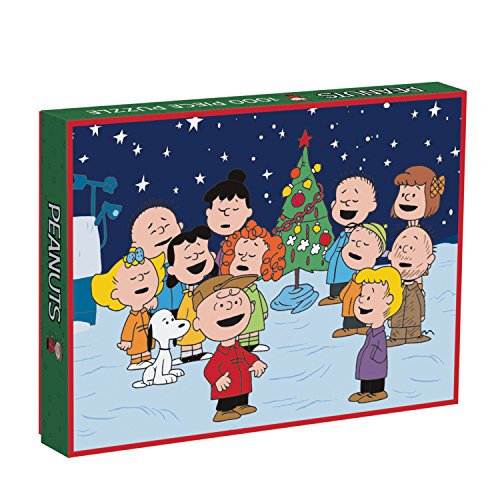 Galison Peanuts Holiday 1000 Piece (Charlie Brown Puzzle)