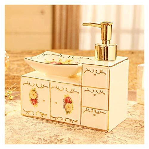 Zuinig Aanrecht zeep dispensers Europese stijl toilet badkamer benodigdheden keramische zeepbakje zeepdoos creatieve…