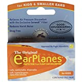 EarPlanes Ear Plugs Kid's - Each, Pack of 3
