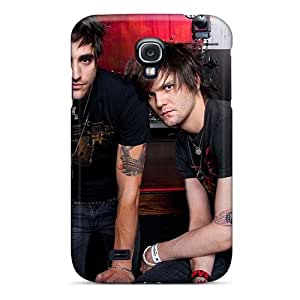 SherriFakhry Samsung Galaxy S4 Shock-Absorbing Cell-phone Hard Cover Support Personal Customs Nice Boys Like Girls Band Pictures [Agp12178NSEZ]