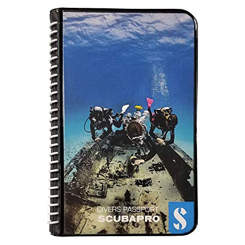 (ScubaPro Water Proof Pages Divers Log Book)