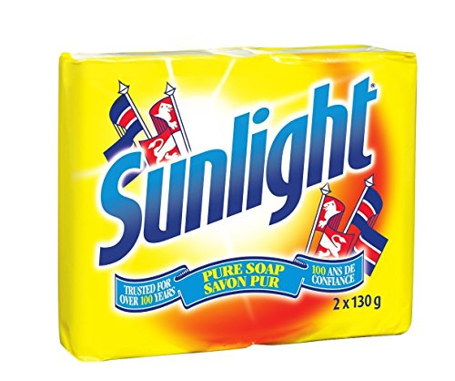 Sunlight Lemon Laundry Detergent Bar, 130 Gram