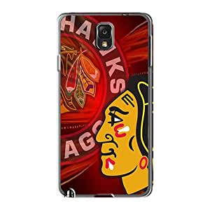 Samsung Galaxy Note 3 NME110cVkC Provide Private Custom Colorful Chicago Blackhawks Series Shock Absorption Hard Phone Covers -casesbest88