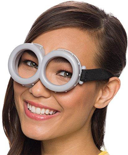 Despicable Me Minion Costume Goggles (Rubie's Costume Minion Goggles (Grey - One size))