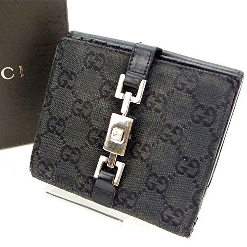 グッチ キャンバス ジャッキー財布(ホック式小銭入れ付き) 035-2131