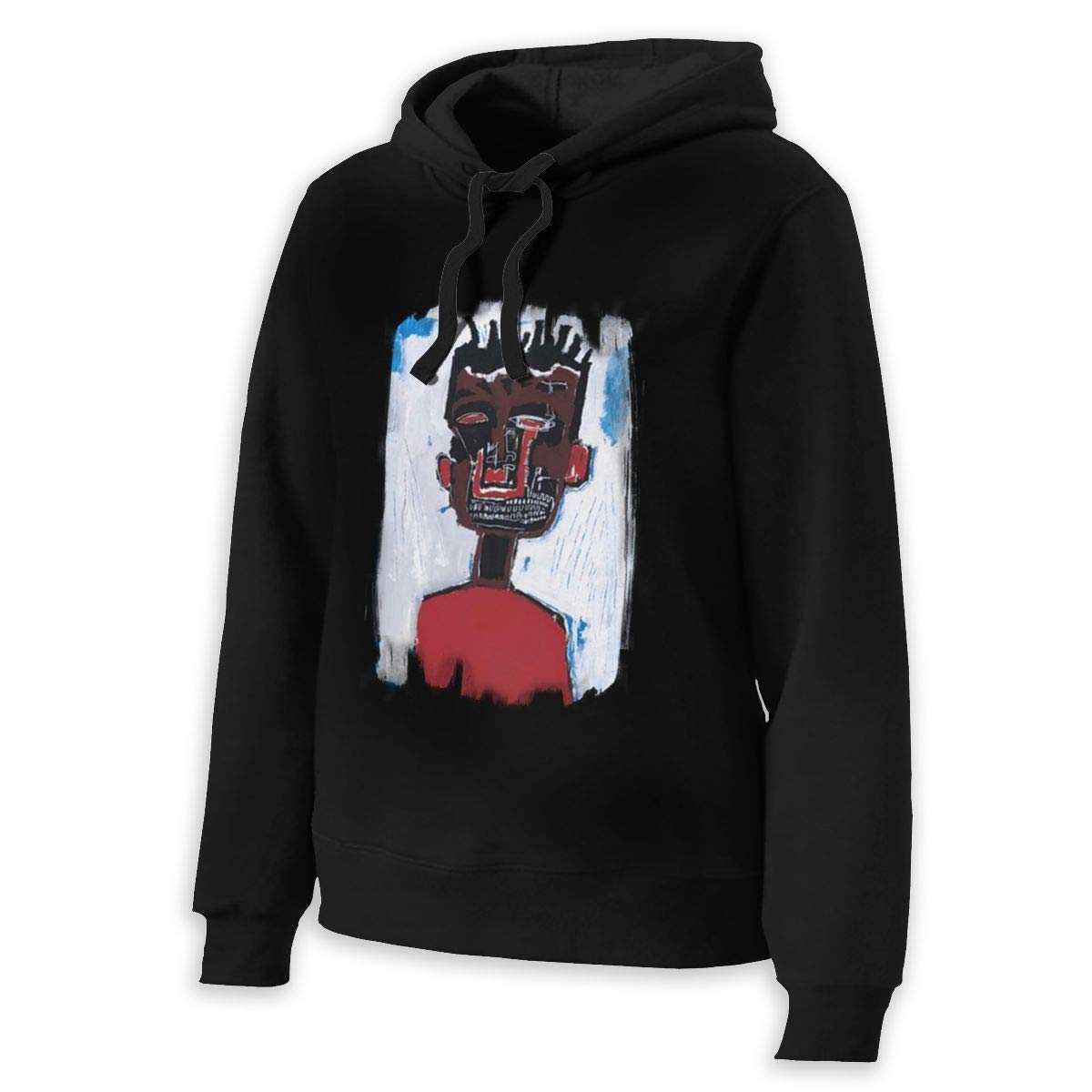 PZY L KING Womans Jean Michel Basquiat Hoodie
