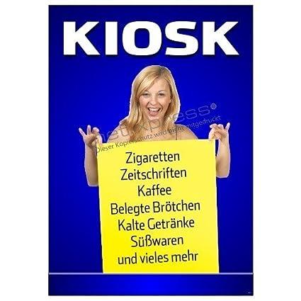 Net-Xpress® Cartel de Publicidad para Kiosko y Trinkhalle ...