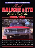 Ford Galaxie And 1960-1976, R. M. Clarke, 1855205912