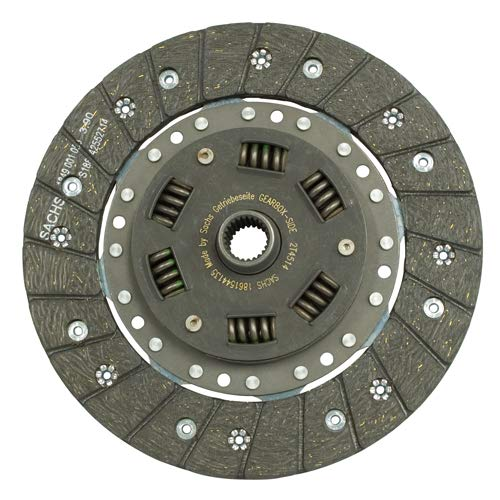 215mm CLUTCH DISC, Sprung, For Type 2 Bus 1974-1975