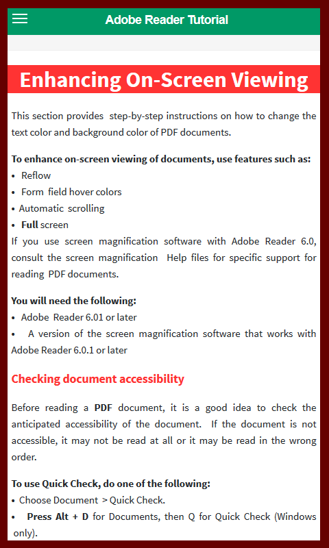 Amazon com: Adobe Reader Tutorial: Appstore for Android