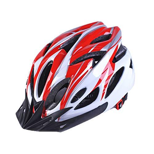 C- Fietshelm voor dames en heren, mountainbike, zonnekap, fietshelm, racefietshelm, mountainbike, skaterhelm voor…