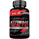 Xtreme Testo Testosterone Booster for Men for Strength, Muscle and Libido Enhancement with Horny Goat Weed, Maca and Tongkat Ali - 60 Caplets