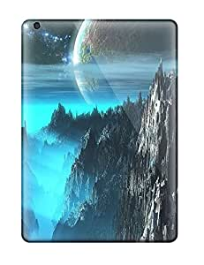 morgan oathout's Shop Hot Pretty Ipad Air Case Cover/ Nice Moon Over The Cliffs Series High Quality Case