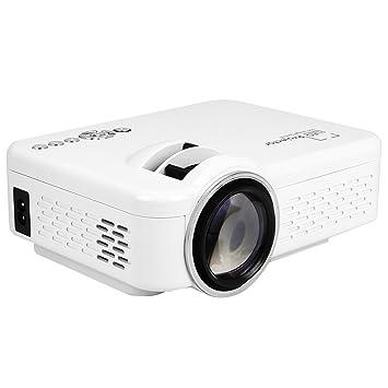 Proyector Multimedia Proyector LED Blanco HDMI VGA Interfaz ...