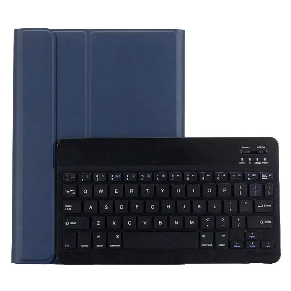 1KTon Removable Bluetooth Keyboard Case Cover Stand for iPad 10.2 2019 7th generation by 1KTon