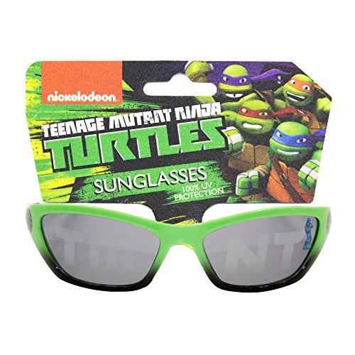 8caaa464d48 Nickelodeon Teenage Mutant Ninja Turtles Kids Children Boys Sunglasses with  100% UV Protection Green and
