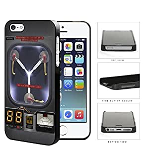 Flux Capacitor Time Machine Hard Plastic Snap On Cell Phone Case Case For HTC One M7 Cover