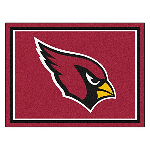 Mlb Baseball Team Logo Themed 59 X 88 Area Floor Rug: Cardinals Floor Mats, Arizona Cardinals Floor Mat