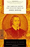 img - for The Complete Poetry and Selected Prose of John Donne (Modern Library Classics) book / textbook / text book