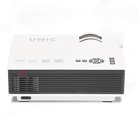 TOUYINGJI UC40 + Mini Portable Home Miniature LED proyector ...