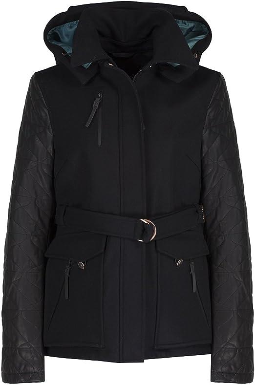 Victorinox Erika II Woolwith Leather Sleeves Womens Jacket