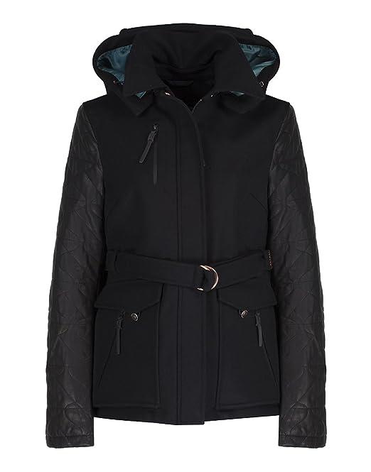Womens Ii Sleeves Erika Jacket Woolwith Victorinox Leather w0mOnNv8
