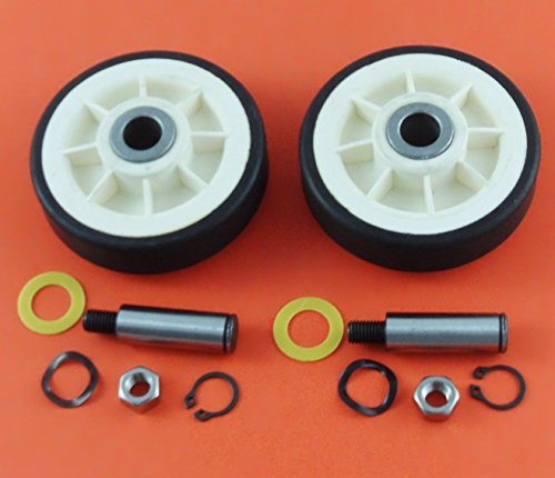 Price comparison product image 12001541 312948 New Maytag Dryer Roller Wheel Drum Support Kit 303373K for 2 Pack