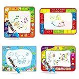 ICCUN Magic Water Drawing Mat Kids Toddler Art Toys,Large Aqua Doodle Mats Painting Pad,Drawing Board Tablet