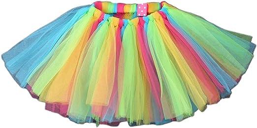 chenpaif Baby Girls Ballet Dance Mini Tutu Falda Tejido a Mano ...