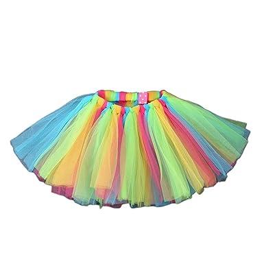 Pennyninis - Falda de tutú para bebé o niña de 10 colores, tejido ...