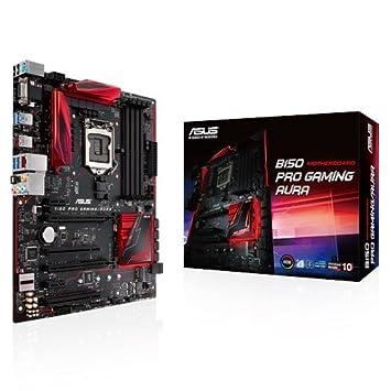 Asus B150 Pro Gaming/Aura Motherboard (Socket 1151, B150, DDR4, S-ATA 600,  ATX)
