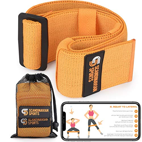 Adjustable Hip Resistance Bands Fabric For Legs and