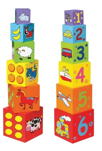 Pierre Belvedere Toy Wooden Nesting Blocks by Pierre Belvedere Toy