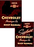 FULLY ILLUSTRATED 1956 CHEVROLET FACTORY REPAIR SHOP & SERVICE MANUAL SET - Includes 150, 210, Bel Air, Del Ray, wagons, and Nomad. You Must Have Both Manuals For 1956 Chevy Repairs