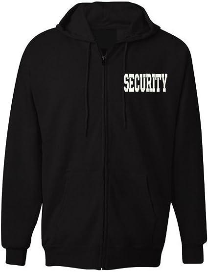 Law Enforcement Military SECURITY OFFICER Jacket Zipper Hoodie
