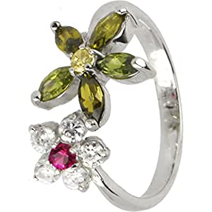 Amazon.com: Body Candy 925 Sterling Silver Wildflower Toe ...