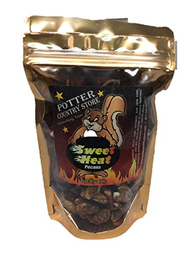 Potter Country Store Sweet Heat Roasted and Glazed Pecans 6 oz. ()