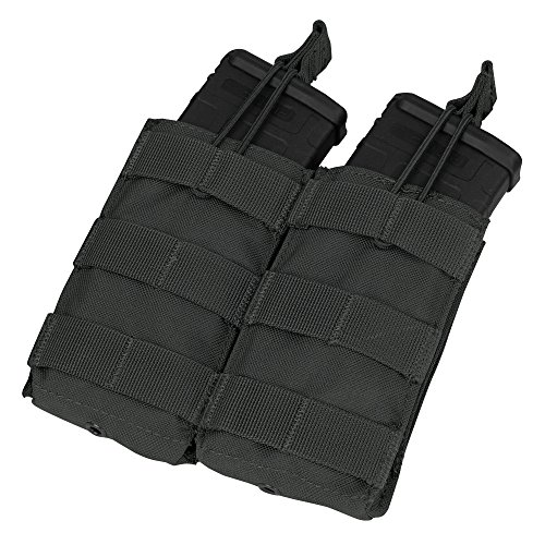 Condor MA19 Double Open Top Mag Pouch Black
