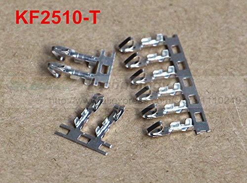 Davitu! 100pcs/lot KF2510-T crimp terminals for KF2510 2510 Female housing 2.54MM spacing - Housing Female Crimping Pin
