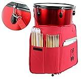 YMC DSB20-RD Pro Drum Stick Bag Holder 15mm Foam - Red