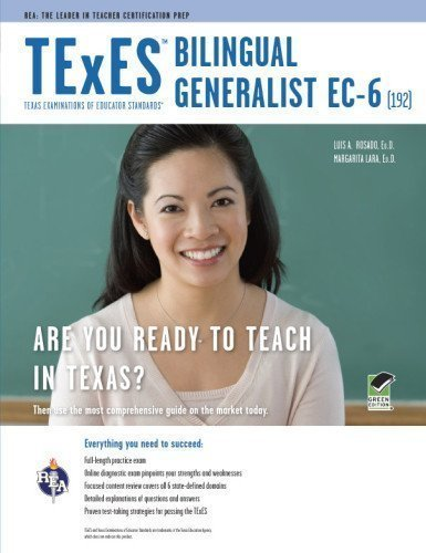 TExES Bilingual Generalist EC-6 (192) (TExES Teacher Certification Test Prep) 1st (first) Edition by Rosado Ed.D., Dr. Luis A. published by Research & Education Association (2011)