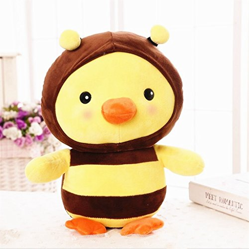 edealing(TM) New Design Chick Plush Toy Stuffed Magic Transfiguration Doll For Children Kids (Seventeen Magazine Halloween Nails)