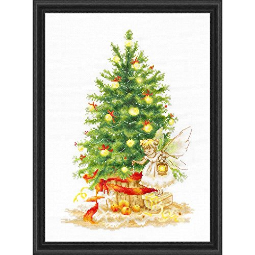 Lucas-S Christmas Tree Counted Cross-Stitch Kit