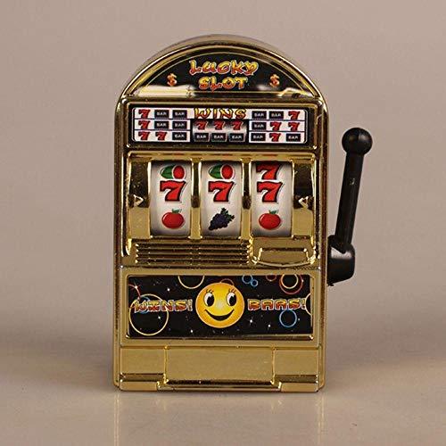 - Apalldoo Unisex Funny Kids Creative Mini Fruit Slot Machine Toys Money Box One-arm Bandit Novelty Decompression Toys Children Toy Gifts
