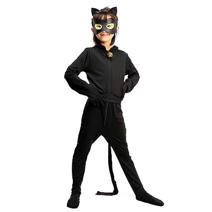 ALBRIGHT Cat Noir Cosplay Disfraces Fiesta de Carnaval Navidad ...