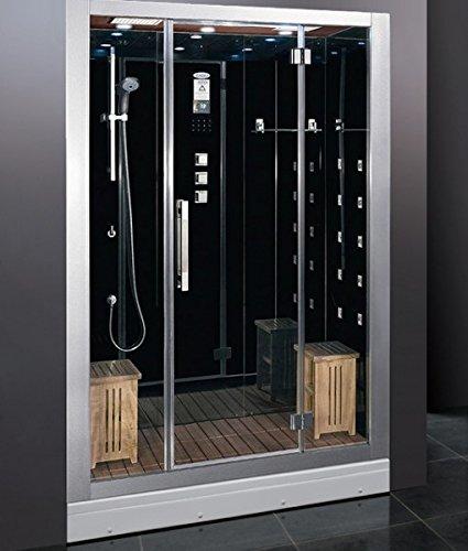 Ariel Luxury Steam Shower W/Aromatherapy And Ventilation Fan DZ972F8