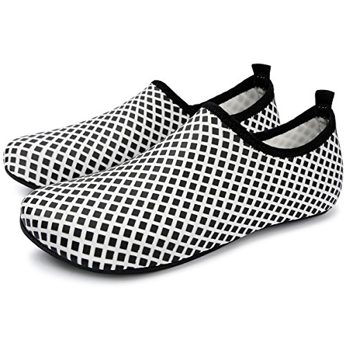 Unisex Surf Run RUN Grid Beach Dive Swim Shoes Water Shoes Barefoot black Skin L Yoga for F5pqwv