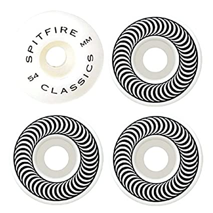 Amazon.com: Spitfire Classics 54 mm ruedas de skateboard ...