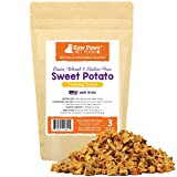 Raw Paws Pet Grain-Free Sweet Potato Training Treats for Dogs, 3-oz - Made in the USA - Vegetarian & Vegan Dog Treats - Natural Sweet Potato Dog Treats - Low Calorie, Gluten Free Puppy Training Treats Larger Image